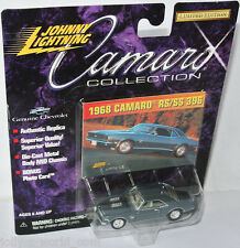 Camaro Collection - 1968 CHEVY CAMARO RS/SS 396  - grey - 1:64 Johnny Lightning