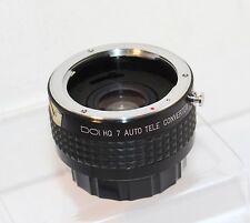 QUALITY DOI 2 X TELECONVERTER 7 ELEMENT fits CONTAX/YASHICA 35mm FILM SLRs