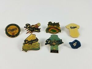 Vintage-L-A-Dodgers-Pins-World-Champion-National-League-West-Champion-More