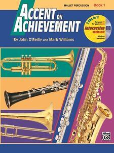 Accent on achievement book 1 clarinet