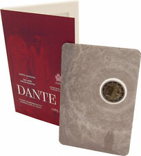 "2 euro commémorative Saint Marin 2015 ""DANTE"""