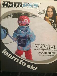 *nouveau* Harnais Launch Pro Pad Ski Trainer Harnais W/ Choc Absorber Laisses