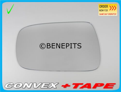 Left Side Wing Mirror Glass For KIA SEDONA 2006-2014 Convex STRONG TAPE #372