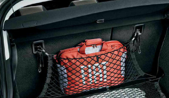 Fiat Tipo Hatchback Pair Cargo Nets for Side of Boot Area New Genuine 71807902