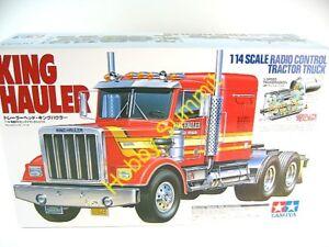 56301-Tamiya-1-14-R-C-KING-HAULER-Tractor-Truck-Kit-Long-Hauler-NIB