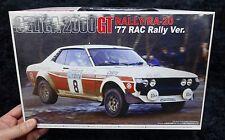 TOYOTA CELICA 2000GT RALLY / RA-20 1977 RAC RALLY 1/24 MODEL KIT AOSHIMA JAPAN