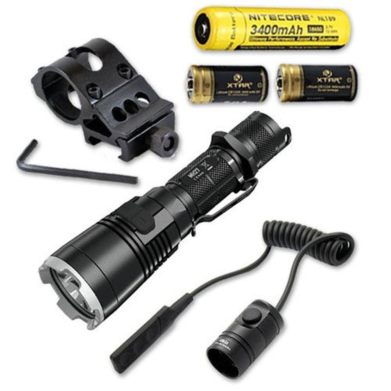 Bundle  Nitecore MH27 Rechargeable  Flashlight w  Offset Gun Mount, RSW1 Press...  just buy it