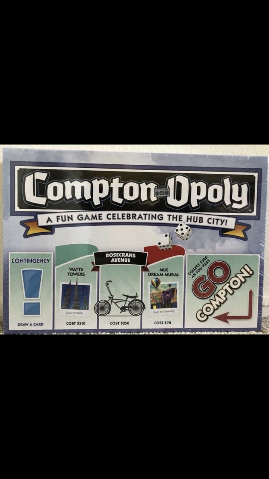 Compton opoly brettspiel (limited edition)