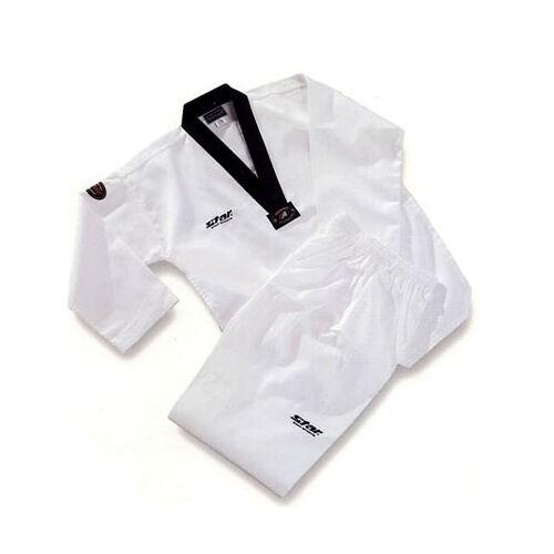 TAEKWONDO UNIFORM STAR dobok Korea DAN TAE KWON DO TKD  uniforms  Korean Sports  inexpensive
