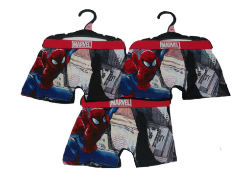 Boys 3pk Spiderman Boxer Trunks Bargain Deal Christmas Value