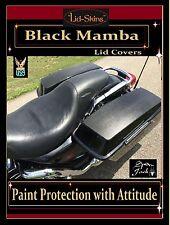 Harley-Davidson STREET GLIDE & Touring Paint Protection Black Mamba 2014-2017