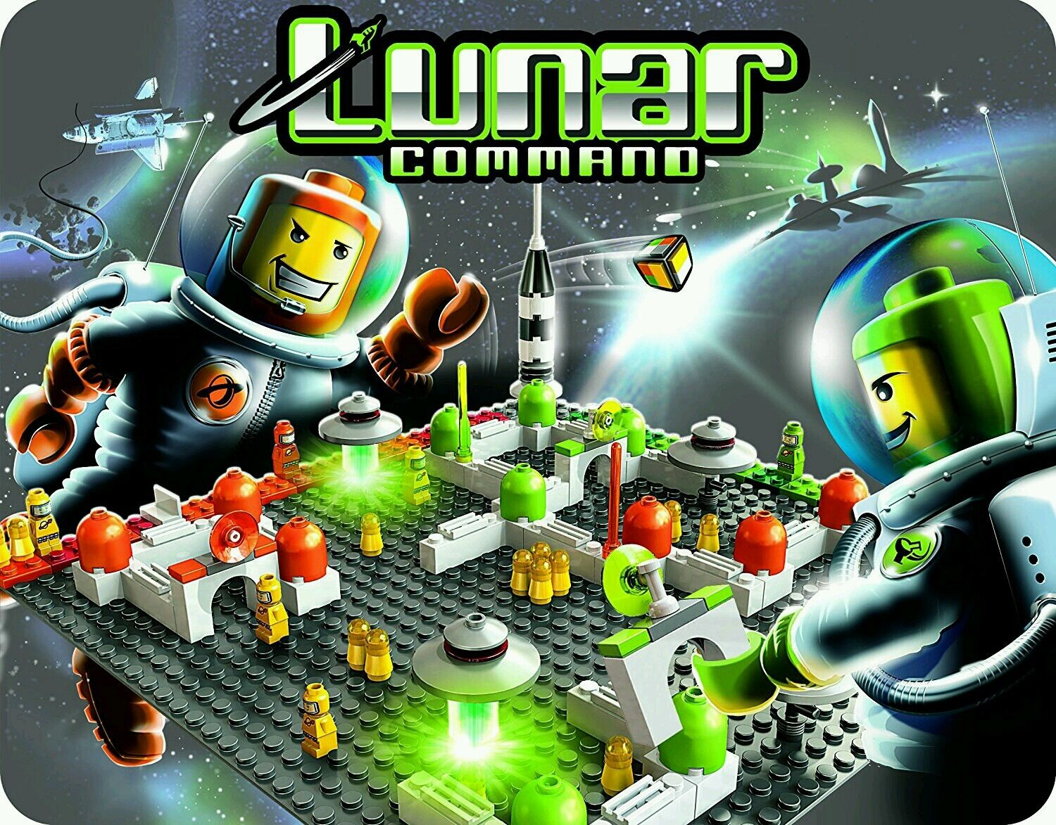 LEGO LEGO LEGO GAMES   3842 LUNAR COMMAND  RARE  BUILD & PLAY   BNIB NEW SEALED✔ FAST P&P✔ 16f285