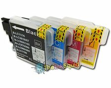 4 LC980 Ink Cartridges for Brother DCP-375CW DCP 375 CW