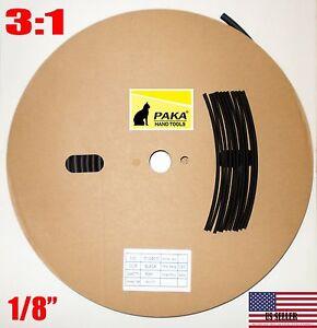 """6.4 mm 1//4/"""" Doble Pared 3:1 Adhesivo Forrado De Calor Shrink Tubo 2 M P3I2 NK"""