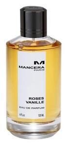 Ml Parfum Spray Mancera Perfume 4 De Eau Roses Vanille Unisex 120 Oz 6bf7gYyv