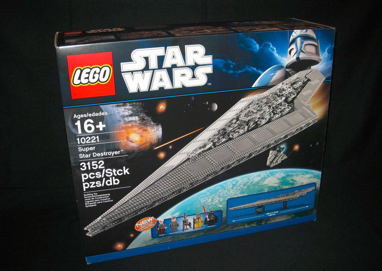 LEGO Star Wars Wars Wars Super-Sternenzerstörer 10221 MISP Neu/OVP 7484b2