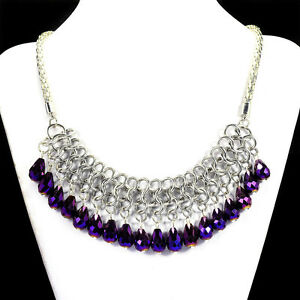 Mystic-Purple-Crystal-Statement-Necklace-Handcrafted-Bib-Jewellery-UK-Gift-Idea