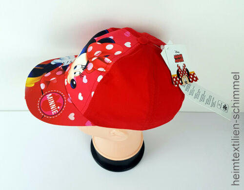 DISNEY Cap Mütze Kappe Basecap Baseballcap Hut Kopfbedeckung UV 30 MINNIE MOUSE