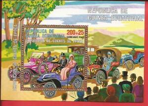 Autoveteranen Autocorso Autos Block 228 Äquatorialguinea Waren Jeder Beschreibung Sind VerfüGbar Briefmarken