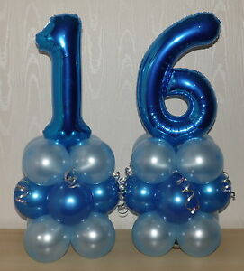 Image Is Loading 16th BIRTHDAY AGE 16 MALE BOY FOIL BALLOON
