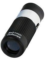 8x Premium Golf Scope Range Finder Monocular Blue Coated Len Telescope Bc2824gbl