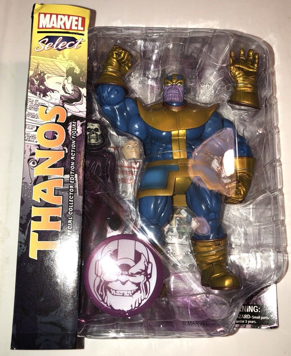 Marvel Select  Thanos Thanos Thanos Action Figure (2018) Diamond New f99ec5