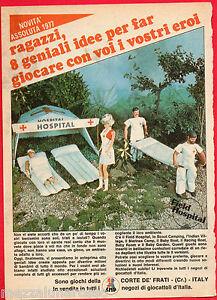 Pubblicita-Advertising-1977-CORTE-DE-039-FRATI-Field-Hospital