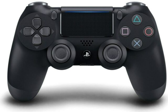 Sony Dualshock 4 Wireless Controller v2 schwarz (PS4)