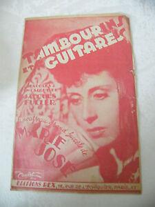 Partitur-Tamburine-und-Gitarren-Marie-Jose