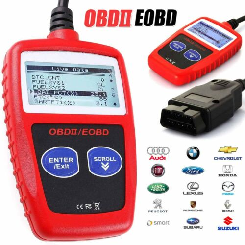 MS309 OBD2 Scanner Auto Diagnostic Tool OBDii EOBD Code Reader Car Data Tester