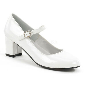 White School Girl Saddle Shoes Grease 1950s Costume Low Heels ...
