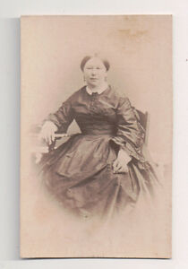 Vintage-CDV-Unknown-French-Matron