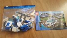 LEGO City 7741 Police Helicopter Complete instructions Police Pilot