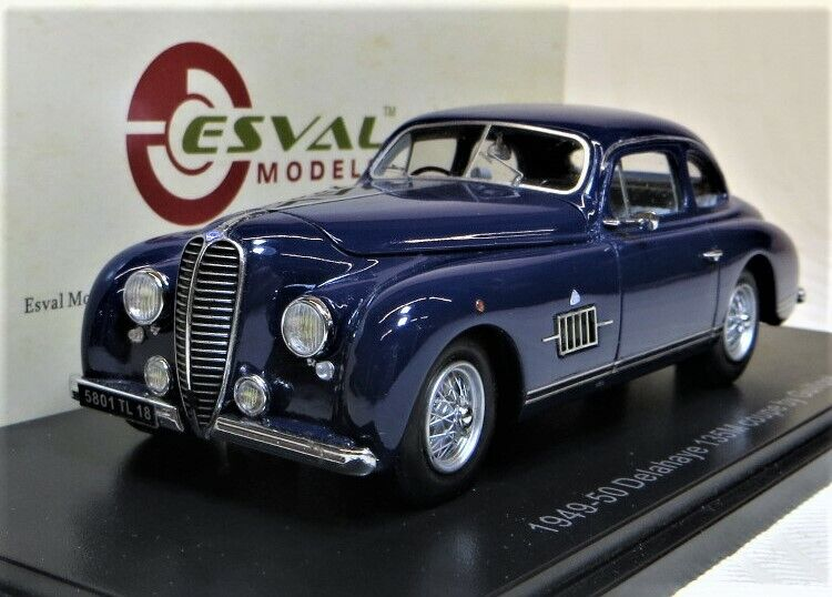 Esval Modelos 1949-50 Delahaye 135M Coupe. Azul Oscuro. Ltd. Ed. 500. a ESTRENAR.