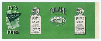 Pine Top black pepper vintage spice tin label Interstate New Orleans Walle Litho