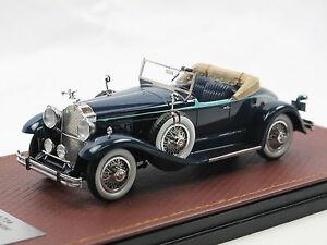 GLM-Models-1930-Packard-734-Boattail-Speedster-blue-1-43-Limited-Edition
