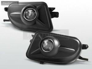 Fog-Lights-Fogs-foglights-New-set-Sport-Package-lamp-tuning-black-pair-styling