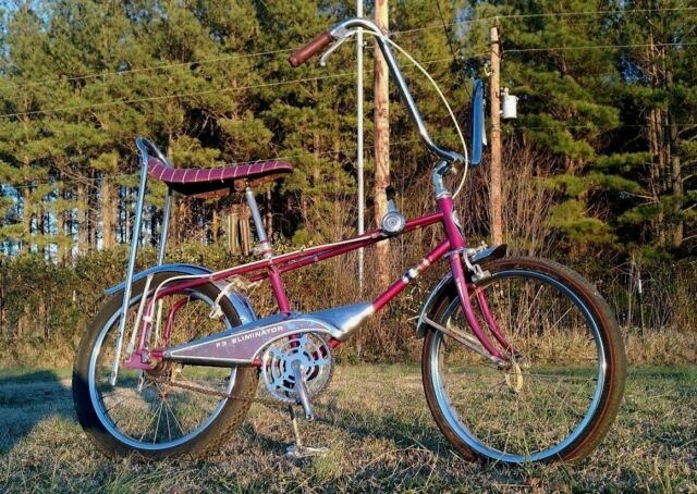 Purple Murray Eliminator Dragster Muscle Bike Kool Vintage Bicycle Project