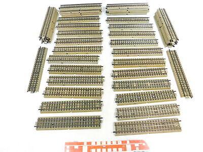 Track Bx548-2# 44x Märklin H0/00/ac M-gleis/schiene Gerade Für 3600/800 Mittelleiter Track