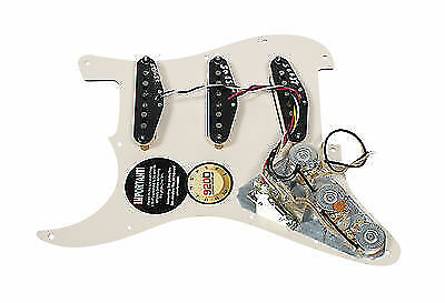 Fender Tex-Mex 920D Custom Loaded Pre-wired Strat Pickguard TO//AW