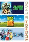 Aliens in The Attic/mac and Me/robots 0024543806462 DVD Region 1