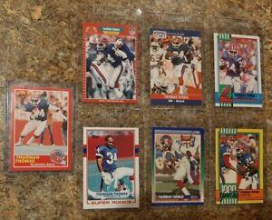 7-Thurman-Thomas-1989-Score-Topps-Pro-Set-Rookie-2nd-Card-Lot-RC-1990-Bills