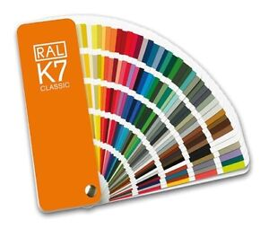 RAL K7 Classic Colour Chart - Brand new. Fan style guide. Latest version