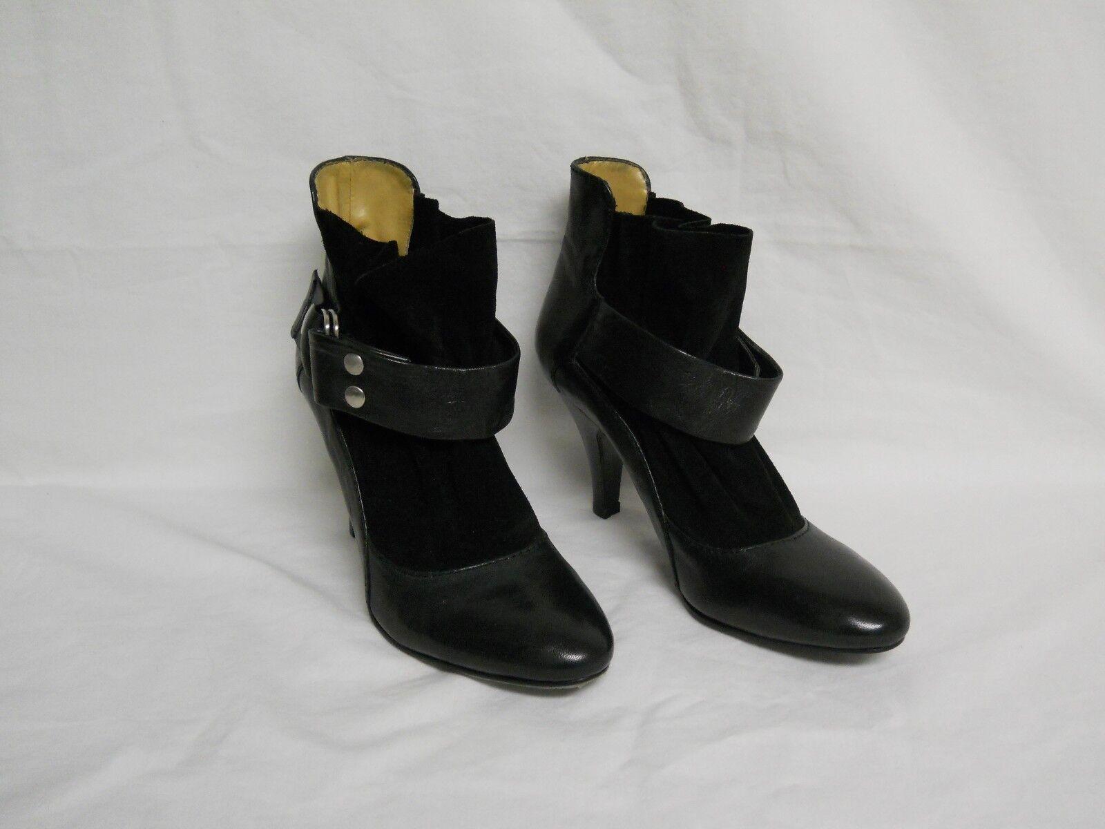 autorizzazione ufficiale Nine West New donna Idolize Idolize Idolize nero Leather stivali 5.5 M scarpe NWOB  comprare sconti