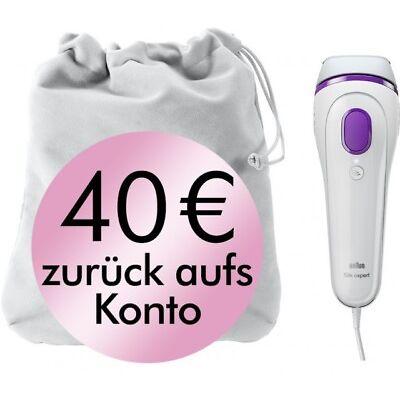 Braun Silk-expert BD3005 IPL Haarentfernungssystem mit Pouch, Körper und Gesicht