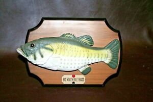 Gemmy-034-Big-Mouth-Billy-Bass-034-Singing-034-Take-Me-to-the-River-034-Mounted-Novelty-Fish