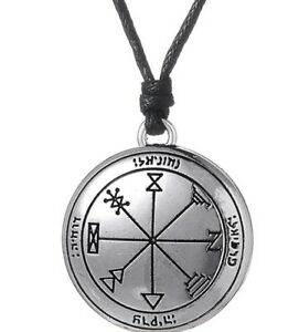 Details about 1st Seal Jupiter Necklace: Attract Wealth Increase Business  Luck Magical sigil