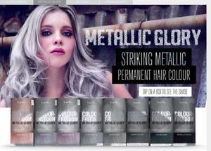 2 X Knight   Wilson Hair Colour Freedom Metallic Glory Permanent  1206de20e9a4