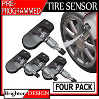 Tire Pressure Monitoring Sensor (tpms) Set Of 4 For 2005-2008 Jeep Liberty on Sale