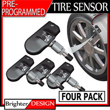 Tire Pressure Sensor (TPMS) Set of 4 - For 2013-2016 Subaru BRZ